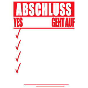 Ausbildung ABSCHLUSS Berufsabschluss Azubi Geselle