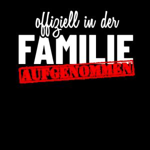Offiziell in der Familie aufgenommen - Willkommen