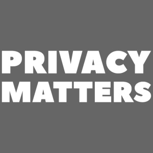 PRIVACY MATTERS Blanc