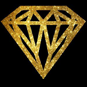 diamant - diamond - Glitter - Gold