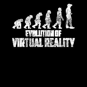 Evolution VR Gamer Gaming Virtual Reality