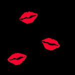 Kiss the Cook rote Lippen Kussmund Küchenchef heiß