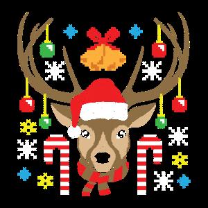 Weihnachts Rentier Elch Weihnachten