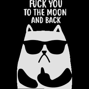 Fuck you Cat - Katzen - Katze - Kätzchen