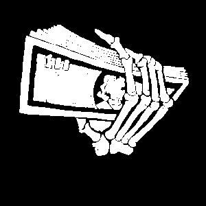 Geld Skelett