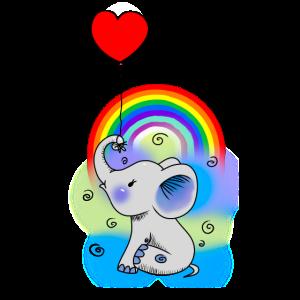 Ballon Baby Elefant Kinder Geburt Fantasy Geschenk