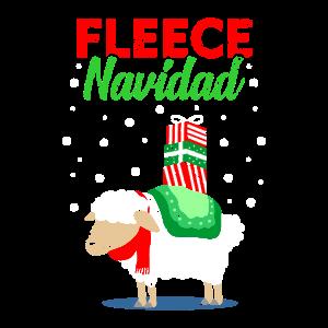 Fleece Navidad Feliz Navidad Christmas Xmas Fun