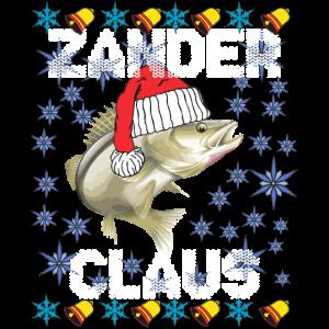 Zander Claus Santa Claus Raubfisch Weihnachtsmann