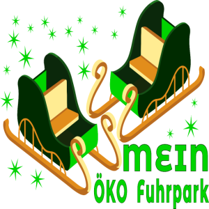 Mein Oeko Fuhrpark Klimawandel Schlitten