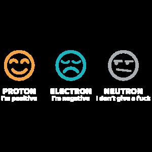 Proton Electron Neutron Wissenschaft Geschenk