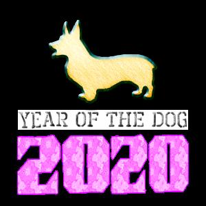 Corgi Year Of The Dog 2020 Women's Classic T-Shirt