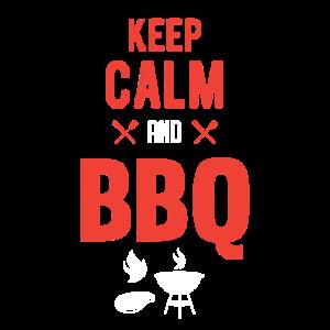 Keep calm and BBQ! Schönes Design zum grillen