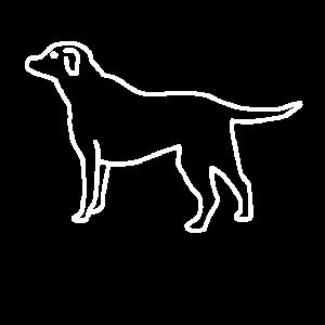 Hund Gezeichnet Hundebesitzer Hundefreund Geschenk