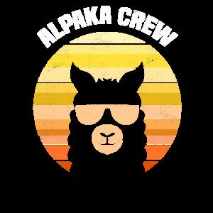 Retro Alpaka Sonnebrille Alpaka Crew