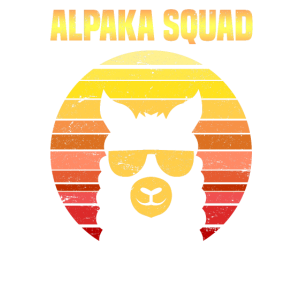 Alpaka Squad Retro Alpaka Sonnebrille