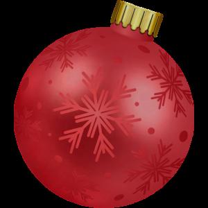 Weihnachtskugel schwanger Babybauch Geschenk
