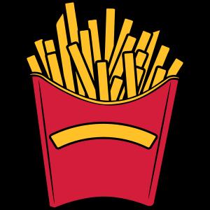 fast food pommes