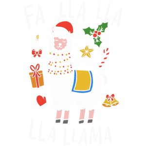 Weihnachts-Lama