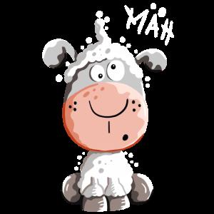 Drolliges Schaf - Schafe - Lamm - Fun
