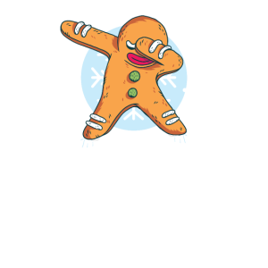 Weihnachten Lebkuchenmann Dubbing Dab