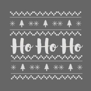 HO HO HO Babbo Natale, Ugly Christmas sweater