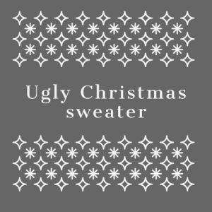 ugly Christmas sweater, maglione natalizio