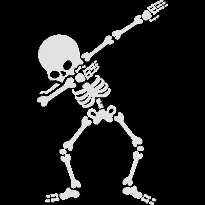 Dabbing skeleton (Dab) - Kaufen Sie dieses lustige dabbing Skelet T-shirt für Ihre Kinder und tragen Sie es an Halloween. Trick or treat wird nie mehr gleich sein, nur den Dab für etwas Süßigkeiten machen. - wirbelsäule,trick or treat,süßigkeit,spaß,skelett,schädel,schrecken,rosenkäfig,lustig,kostüm,knochen,kinder,hip hop,halloween,gruselig,gespenstisch,finger,feiertag,dance,dabbing,dab,beängstigend,31 oktober