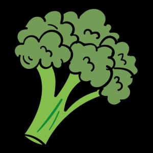 Brokkoli Vegan Obst Geschenk