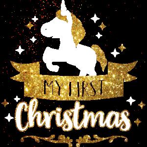 My first Christmas - Mein erstes Weihnachten -Baby