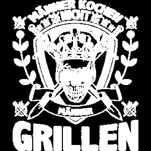 Grillen SHIRT - Fleisch Mann Geschenk