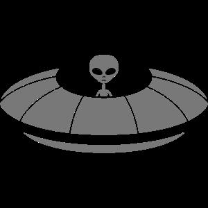ausserirdischer grey cool aliens Ufo blau fliegen