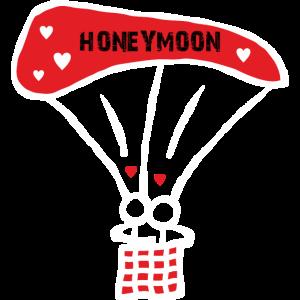 Ballonfahrt Honeymoon
