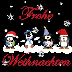 Weihnachten mit süßen Pinguinen