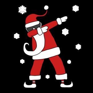 Dabbing Santa