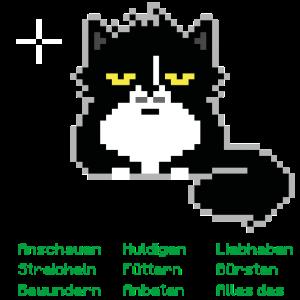 8bit Game Katze (Deutsch)