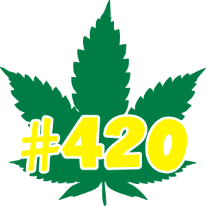 Weed Leaf #420