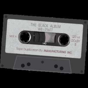 Kassette aus den 80er Jahren für DJs