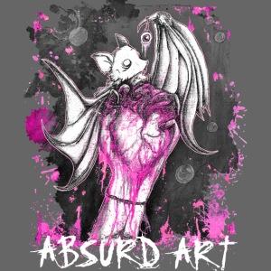 """""""Seifenblasen"""" Pink, von Absurd ART"""