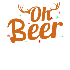 Oh Beer | Lustiges Weihnachts Shirt