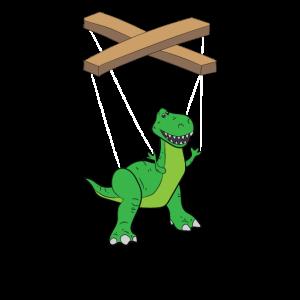 Bauchredner T-Rex Marionette Geschenk