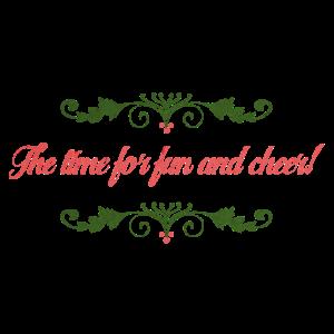 Weihnachten- Spaß und Trinken-Geschenk Idee