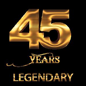 45. Geburtstag