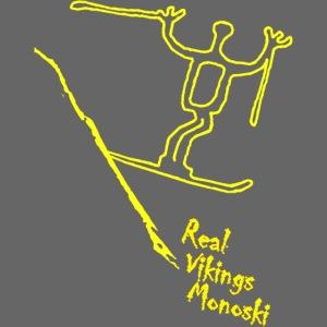 RVM RealVikingsMonoski yellow