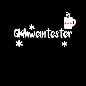 Gluehweintester Weihnachts shirt lustiges Geschenk
