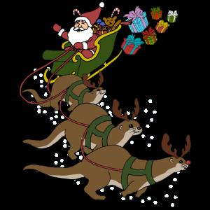 Otter Weihnachten