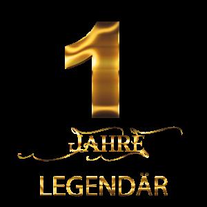1 Jahre Legendär