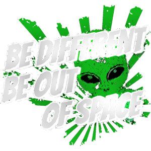 alien shirt - be out of space