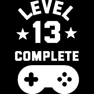 Level 13 complete