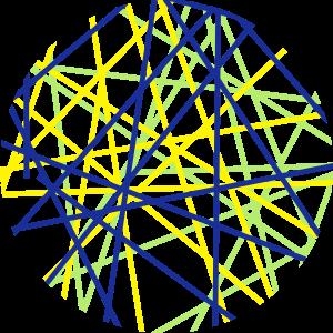 Kreis aus Strichen