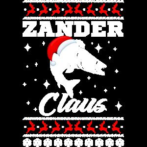 Zander Claus Fischer Christmas lustige Weihnachten
